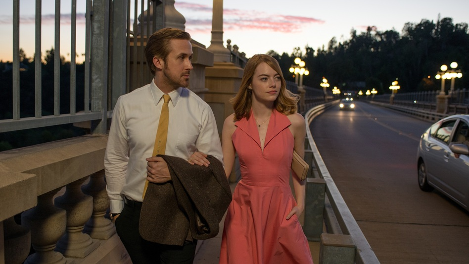 Ryan Gosling and Emma Stone star in Damien Chazelle's new film <em>La La Land</em>, a musical meditation on growing up and reconciling your showbiz dreams with reality. (Dale Robinette)