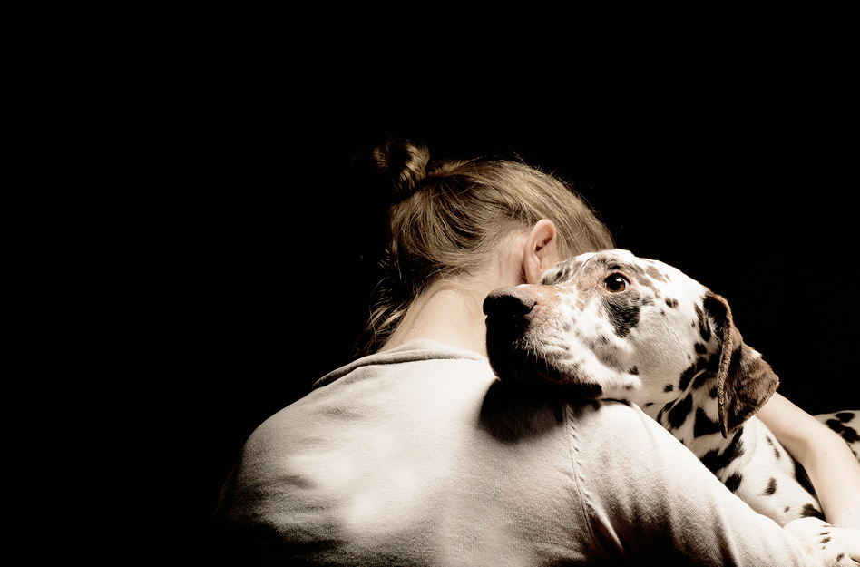 Mental illness can be isolating, making the companionship of pets even more precious. (Gary John Norman/Getty Images)