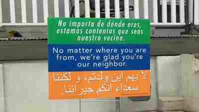 A Message Of Tolerance And Welcome, Spreading From Yard To Yard