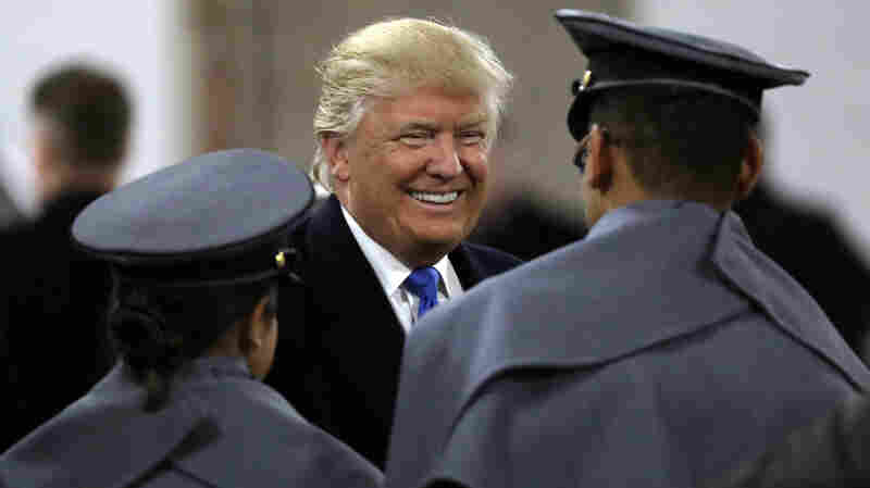 Trump Attends Army-Navy Game As Black Knights Snap 14-Year Losing Streak