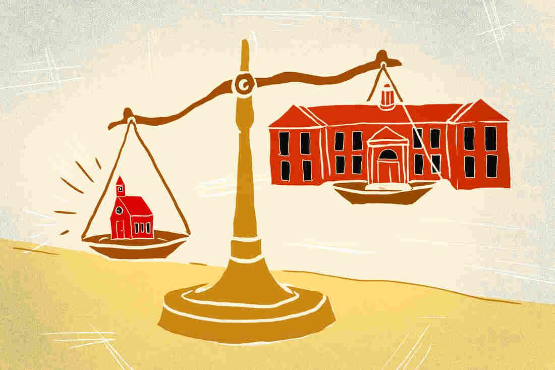 Disparities between school resources