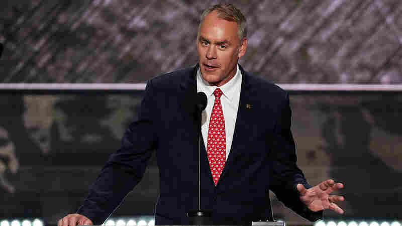 Trump Taps Montana Rep. Ryan Zinke To Lead Interior Department
