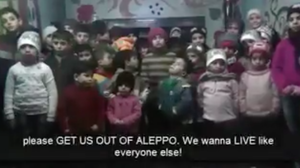 VIDEO: 'We Want To Live Like Everyone Else,' Say Orphans From Aleppo