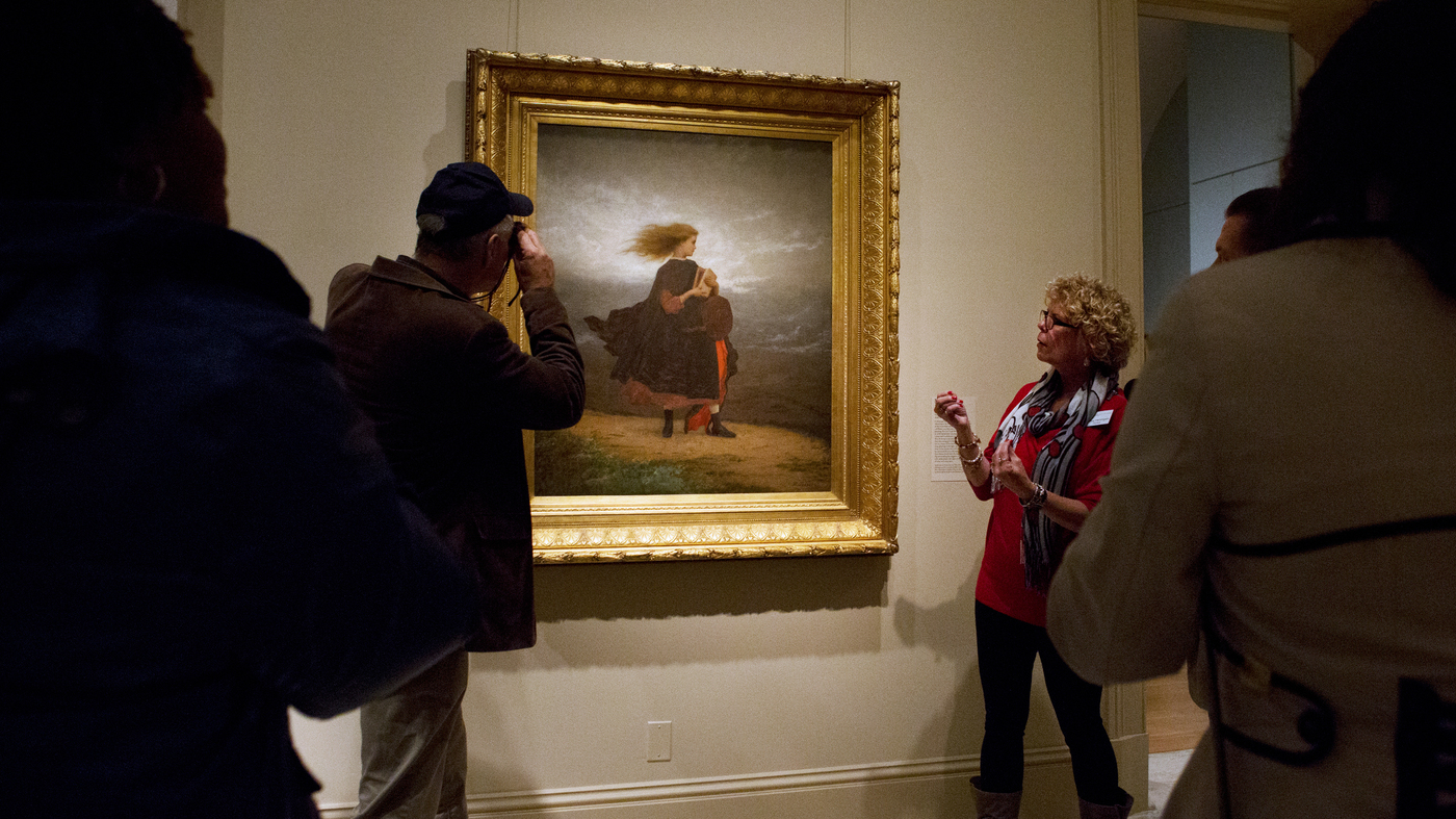 Museum Helps Blind Art Lovers See Exhibits Through Sound And - Amazing 3d art museum lets visitors become part art