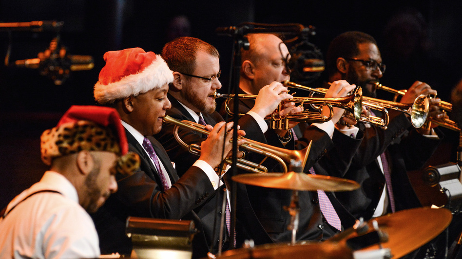 Wynton Marsalis leads the Jazz At Lincoln Center Orchestra. (Jazz At Lincoln Center)