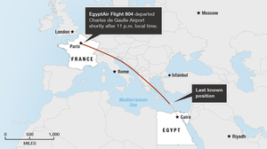 Traces Of Explosives Found On Victims' Remains From EgyptAir Crash