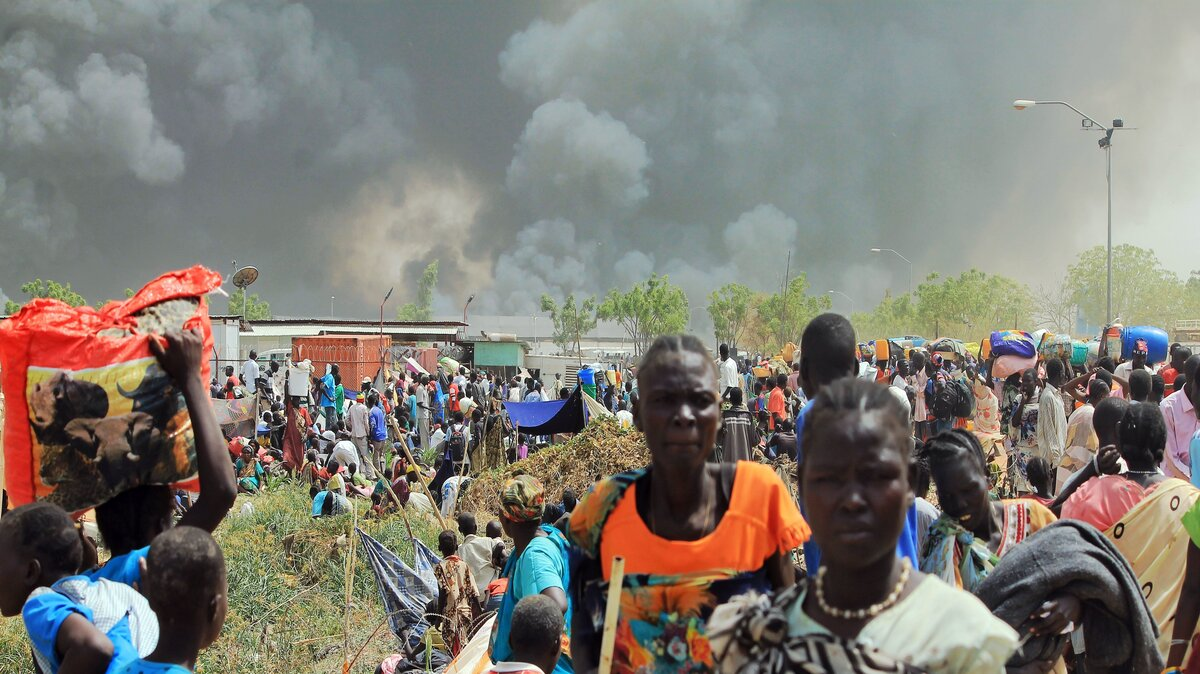 Cil unrest in S Sudan