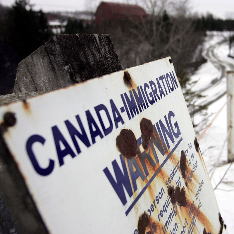 For A Stark Contrast To U S  Immigration Policy, Try Canada