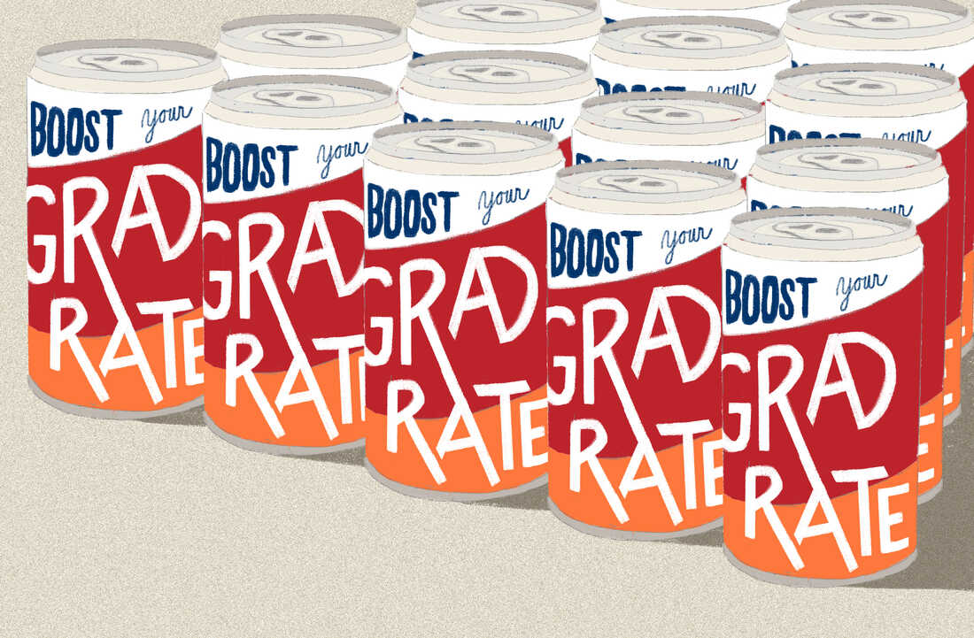 Boost your grad rate — in a can!