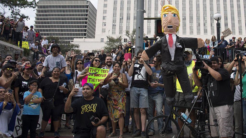 California Gets Ready To Defy Trump's Washington