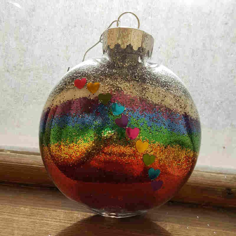 Israel Morales' ornament.