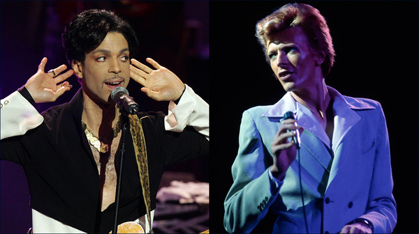 Prince and David Bowie were among the many musicians we lost in 2016.