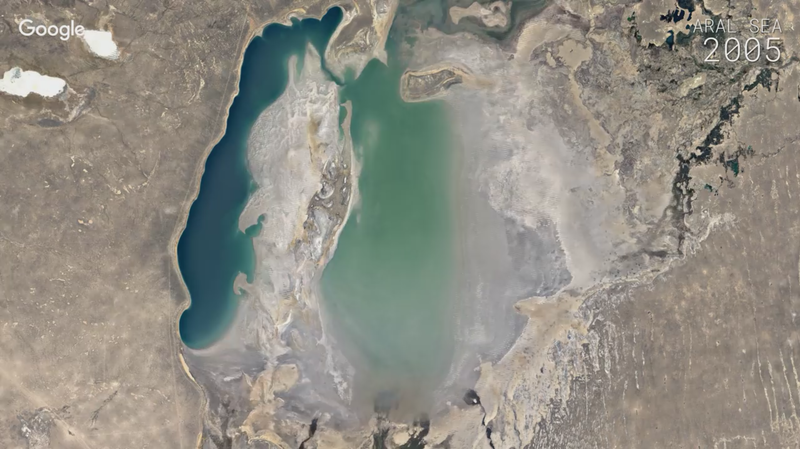 VIDEO: Time-Lapse Google Maps Show How The World Is Changing ... on google art project, google maps italy, google africa map, google sky, google map maker, google mars, bing map, google moon, google us map, google latitude, google search, europe map, yahoo! maps, google moon map, google voice, from google to map, satellite map images with missing or unclear data, world map, the earth map, bing maps, google goggles, web mapping, gis map, flat earth map, satellite map, earth view map, route planning software, united states map, google street view, virtual earth map, google translate, google maps car, google chrome, google docs, street view map,