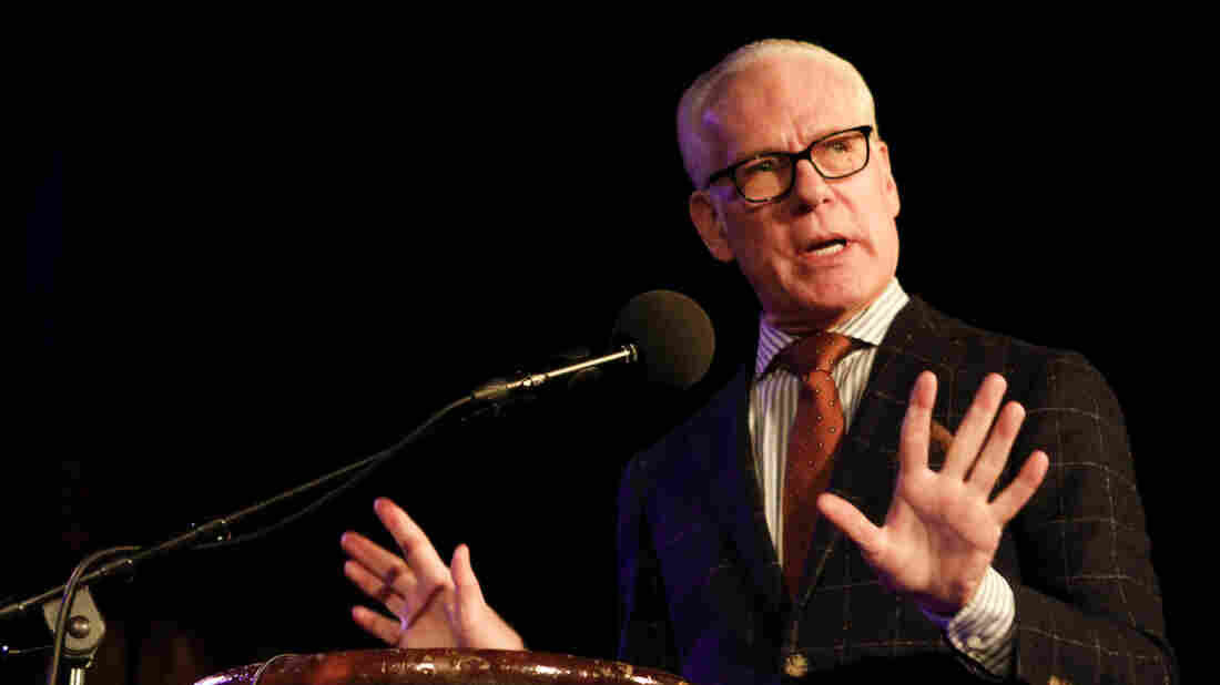 Tim Gunn on Ask Me Another at The Bell House in Brooklyn, New York.