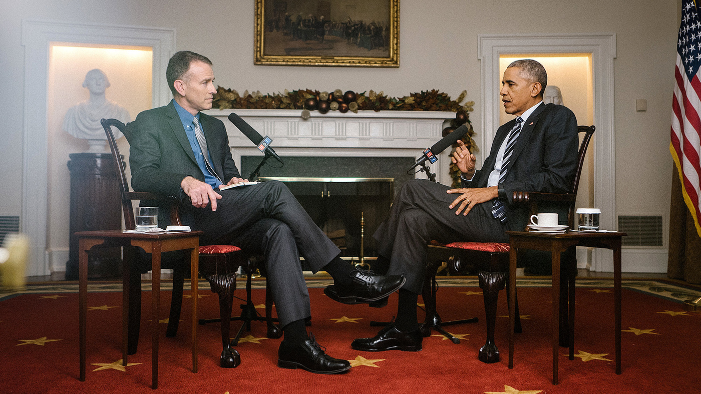 Transcript And Video: NPR's Exit Interview With President Obama
