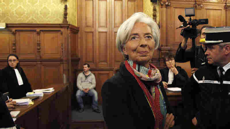 IMF's Christine Lagarde Found Guilty Of Negligence Over 2008 Dispute