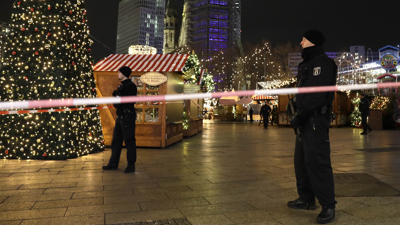 At Least 12 Dead After Truck Driven Into Berlin Christmas Market