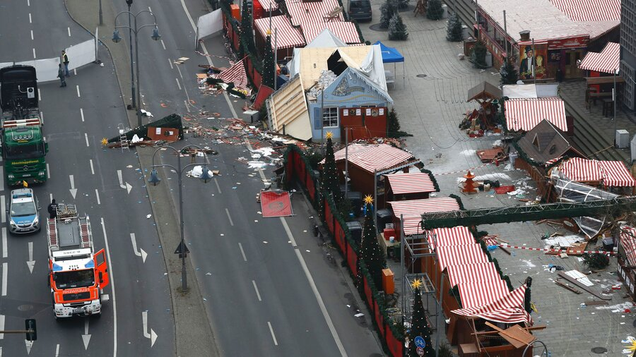 Man Arrested Following Berlin Truck Attack Is Released : The Two ...