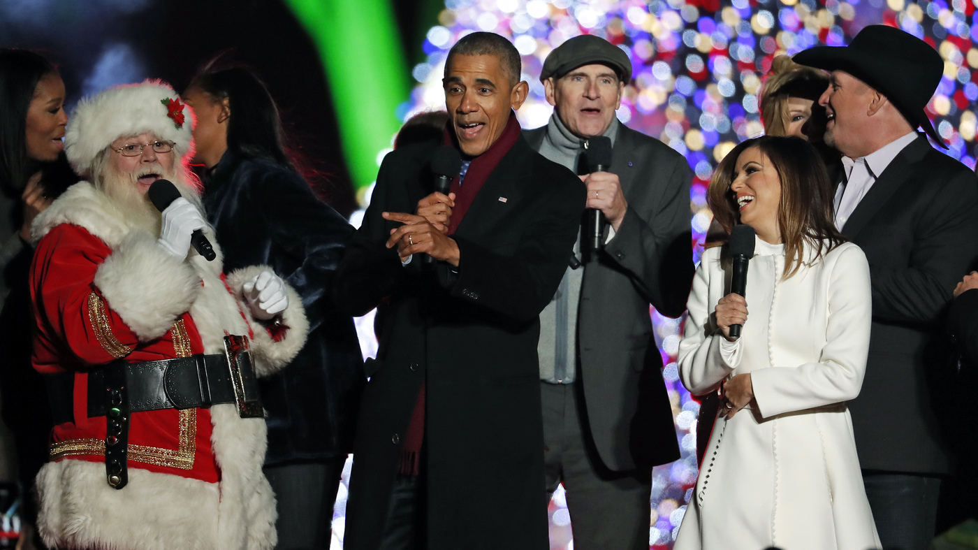 Christmas: 16 Photos Of Presidents, First Families And Santa : NPR