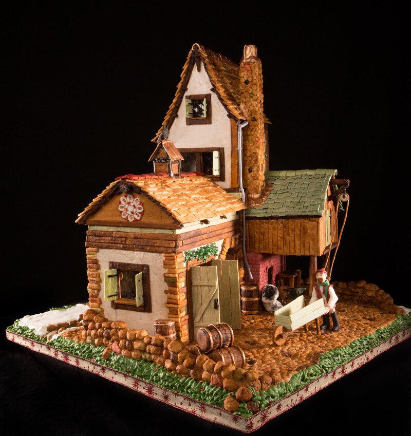 grove park inn gingerbread house 2020