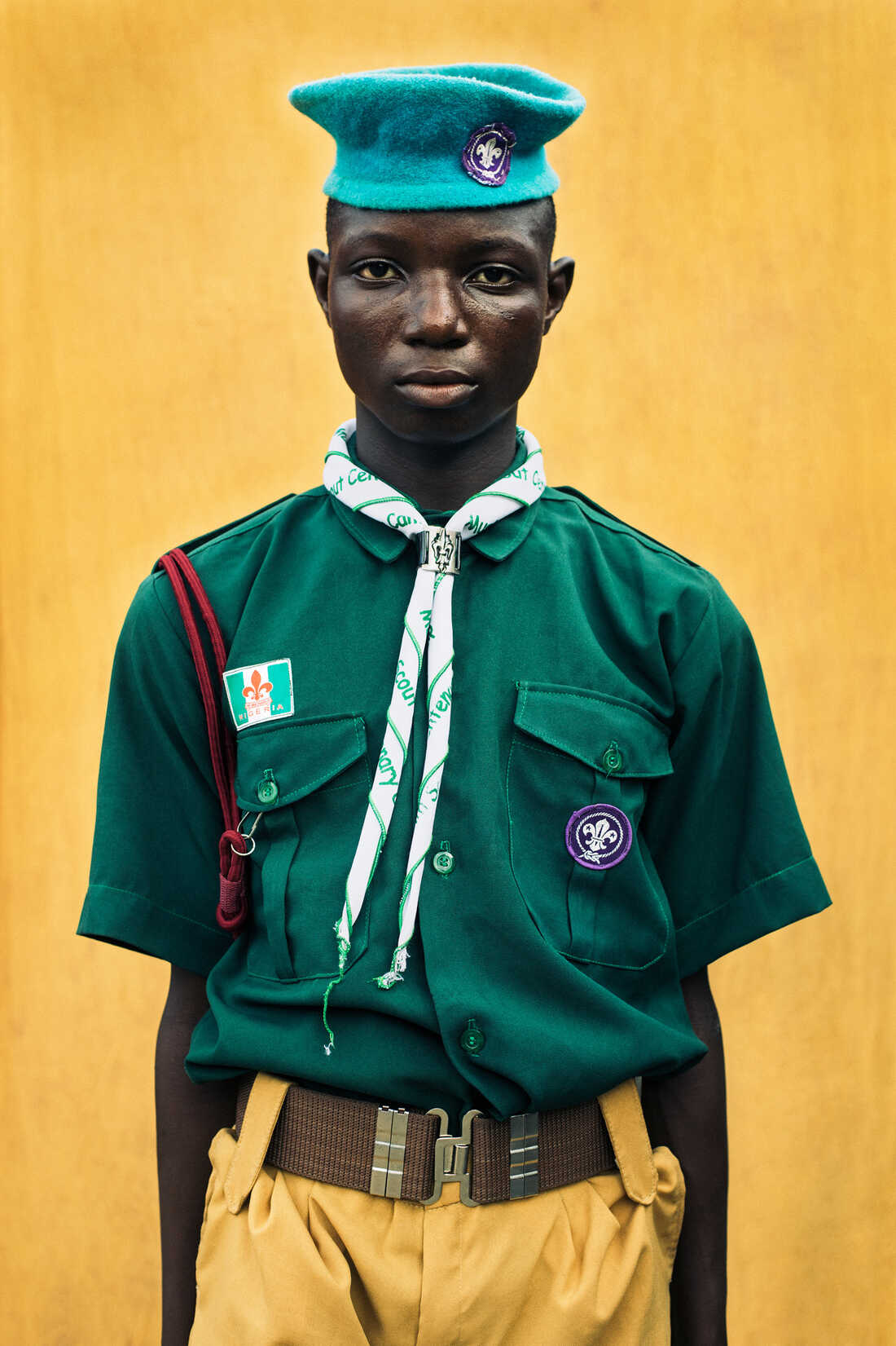 Boy Scout, 2015 © Karl Ohiri and Riikka Kassinen