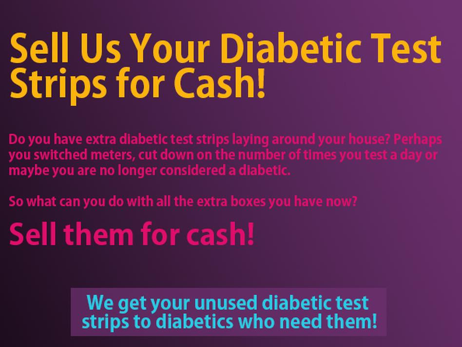 The Murky World Of Secondhand Diabetic Test Strips Wbur News