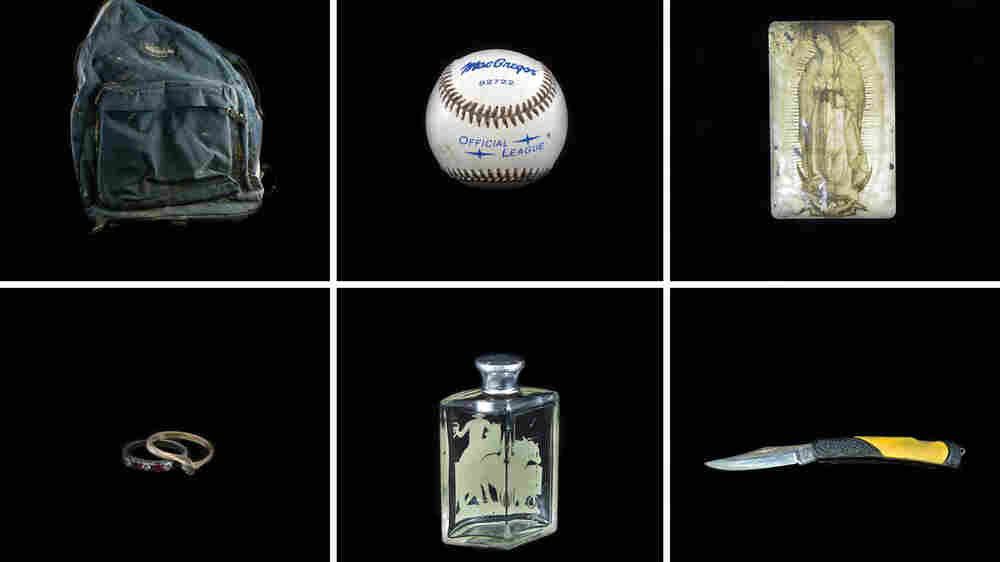 In Texas, A Database Of Exhumed Objects Aims To ID Migrants Who Perished