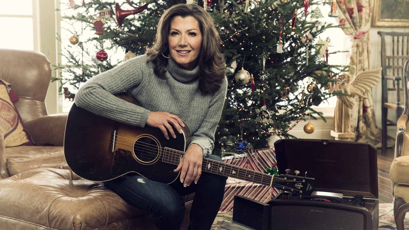 Amy Grant On Faith, Songwriting And Christmas Blues : NPR