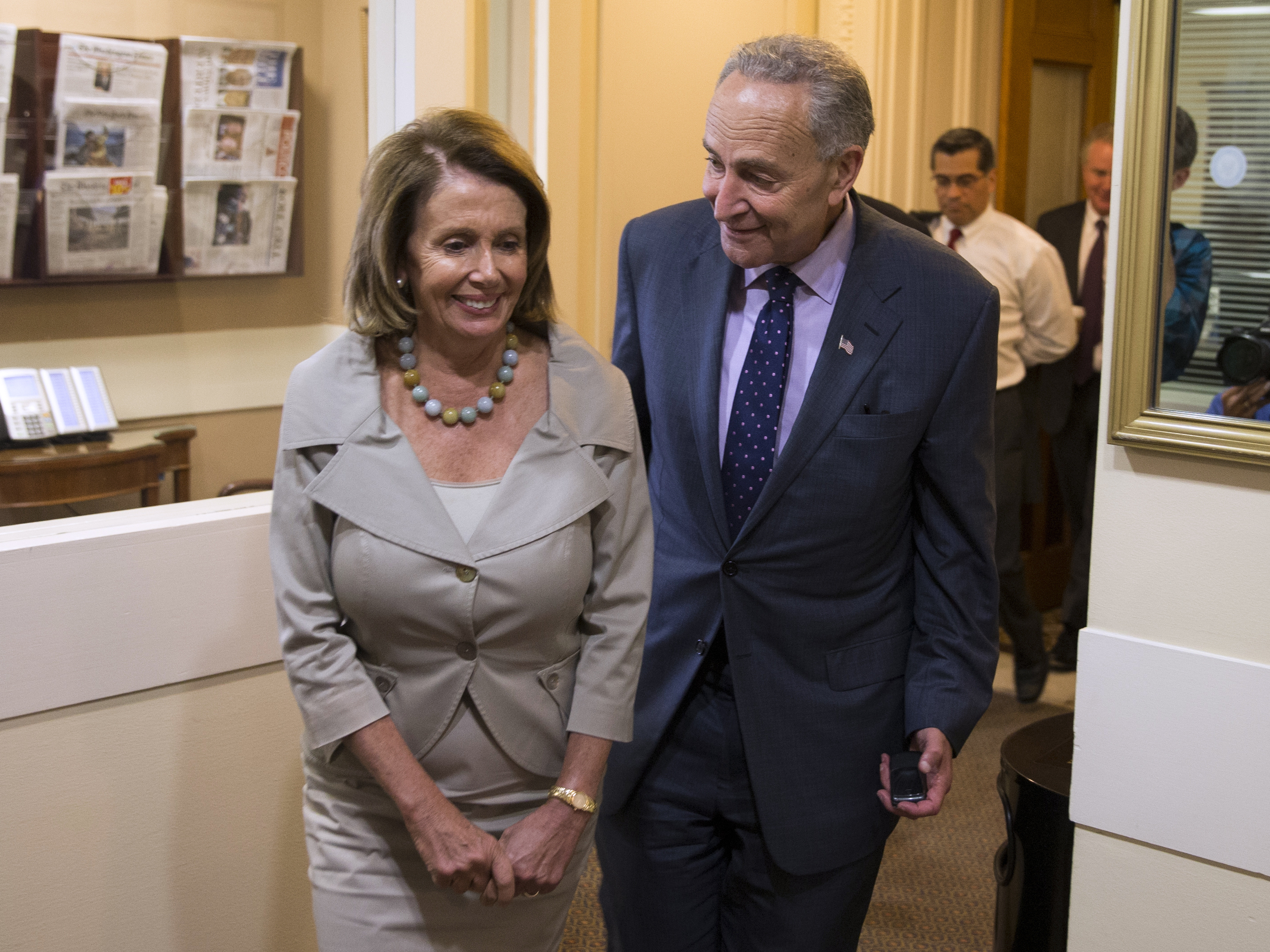 Deal Or Disrupt? Congressional Democrats Weigh 2017 ...