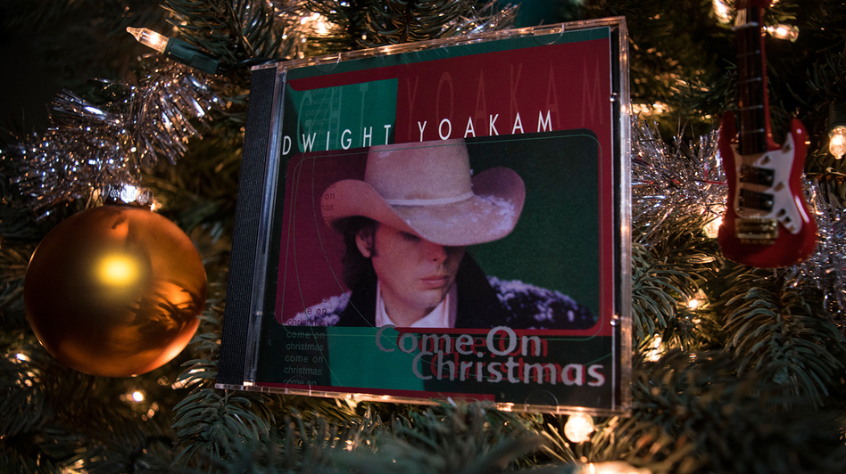 Dwight Yoakam's <em>Come On Christmas</em>, nestled in the Horn family tree.