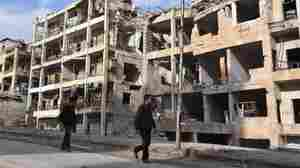 Emptied East Aleppo Now Regime-Controlled, But Syria's Civil War Rages On