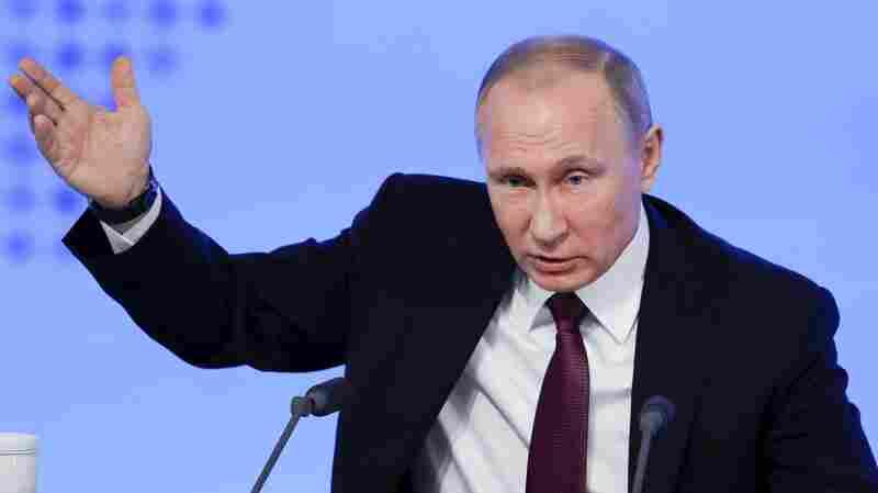 Putin Shrugs Off Trump's Tweet On Expanding U.S. Nuclear Capability