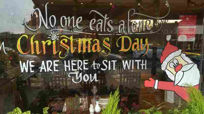 'No One Eats Alone On Christmas': Restaurant Serves Free Meals To Homeless, Elderly