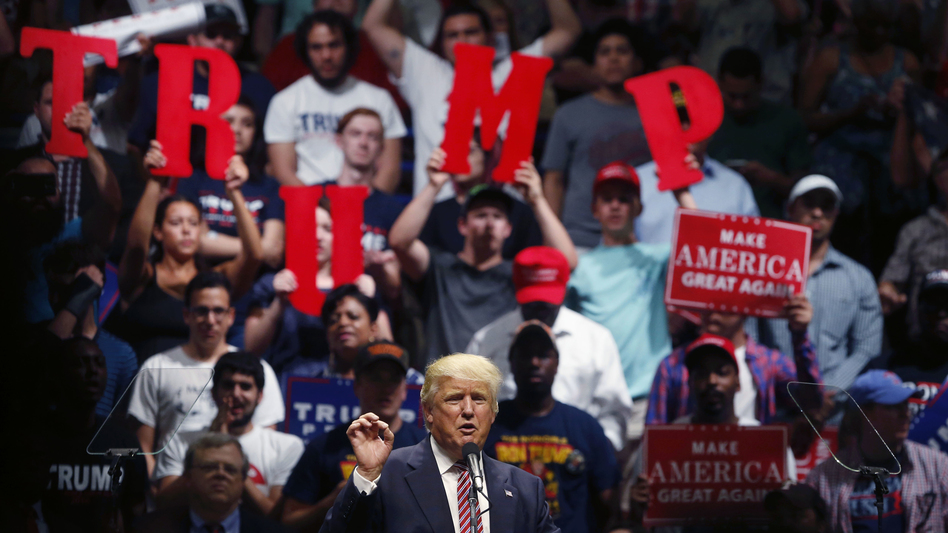 Donald Trump blasted Hillary Clinton for her family's own charitable foundation and alleged conflicts of interest during the campaign. (Gerald Herbert/AP)