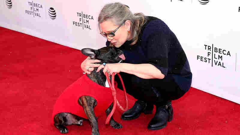 LISTEN: Carrie Fisher, Terry Gross — And Gary The Dog