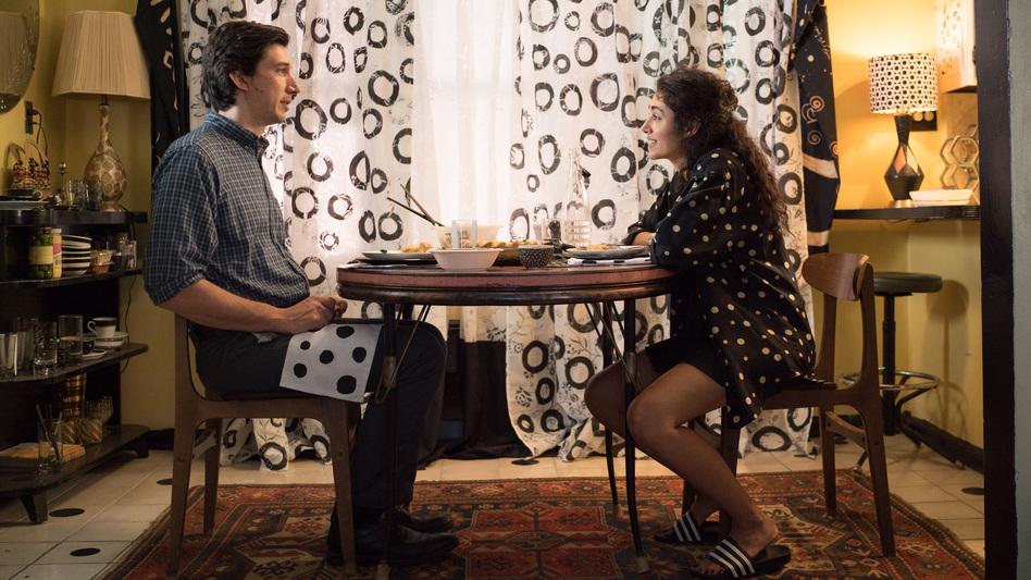 Adam Driver and Golshifteh Farahani in Jim Jarmusch's <em>Paterson</em>. (Mary Cybulski/Amazon Studios)