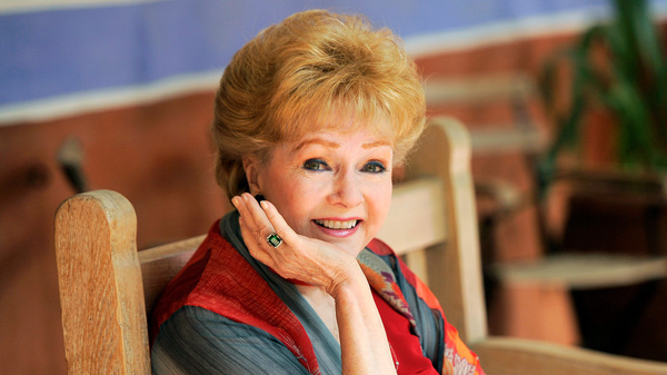 Debbie Reynolds poses for a portrait in Beverly Hills, Calif., in 2013.