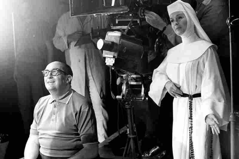 Debbie Reynolds on the set of The Singing Nun in 1965.