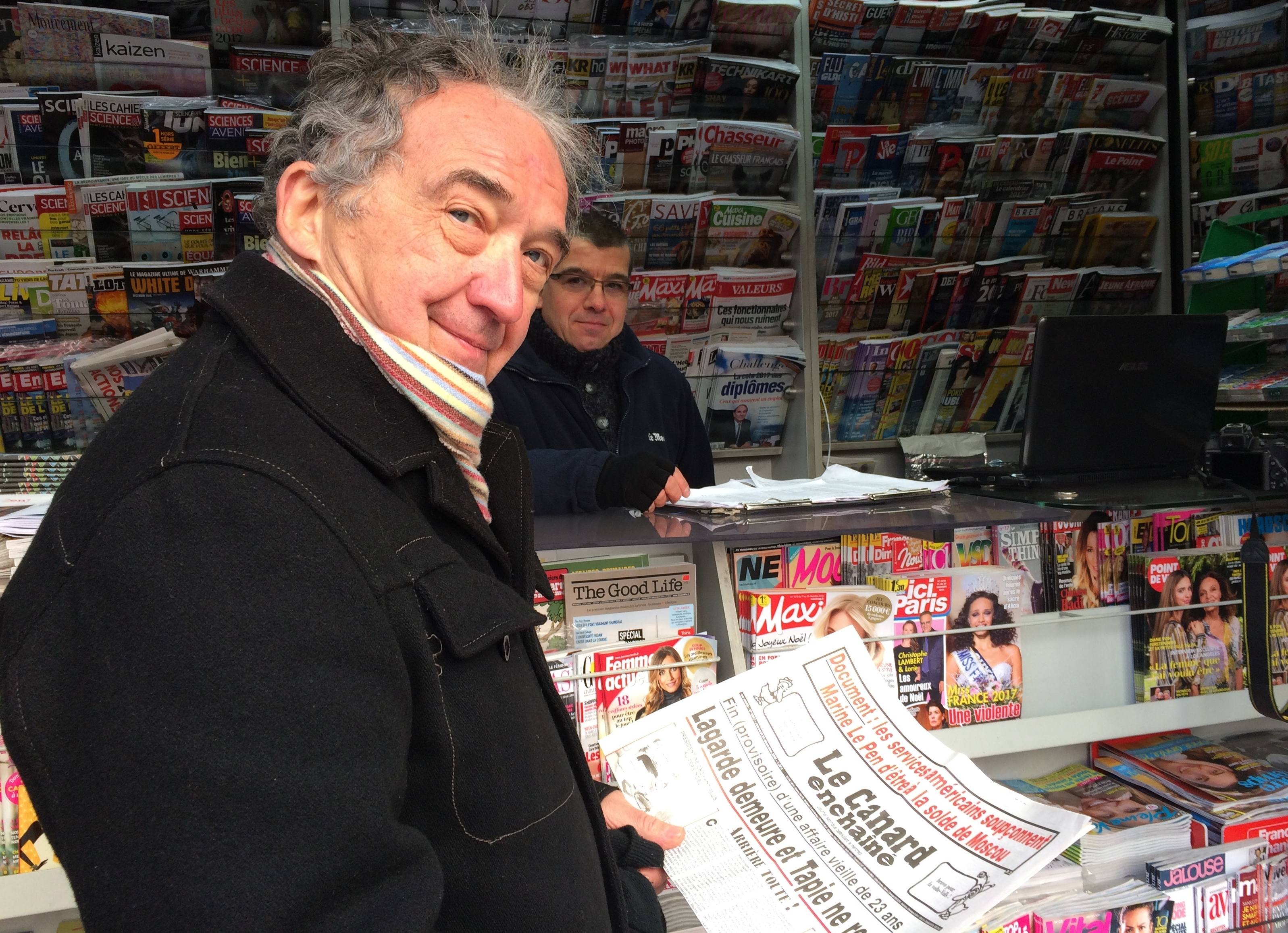 At 100, A French Newspaper Thrives — With No Ads And A Minimalist Webpage