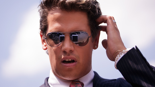 """Milo Yiannopoulos, a conservative columnist and Internet personality, confirmed that he has a book deal with Simon & Schuster, saying on his Facebook page: """"They said banning me from Twitter would finish me off. Just as I predicted, the opposite has happened."""""""