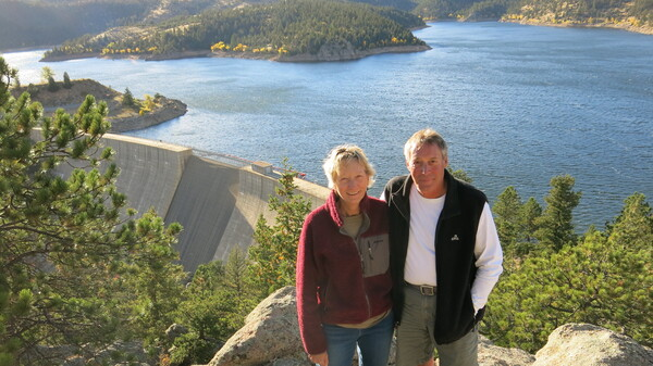Beverly Kurtz and Tim Guenthner live near Gross Reservoir outside Boulder, Colo. They oppose a an expansion project that would raise the reservoir