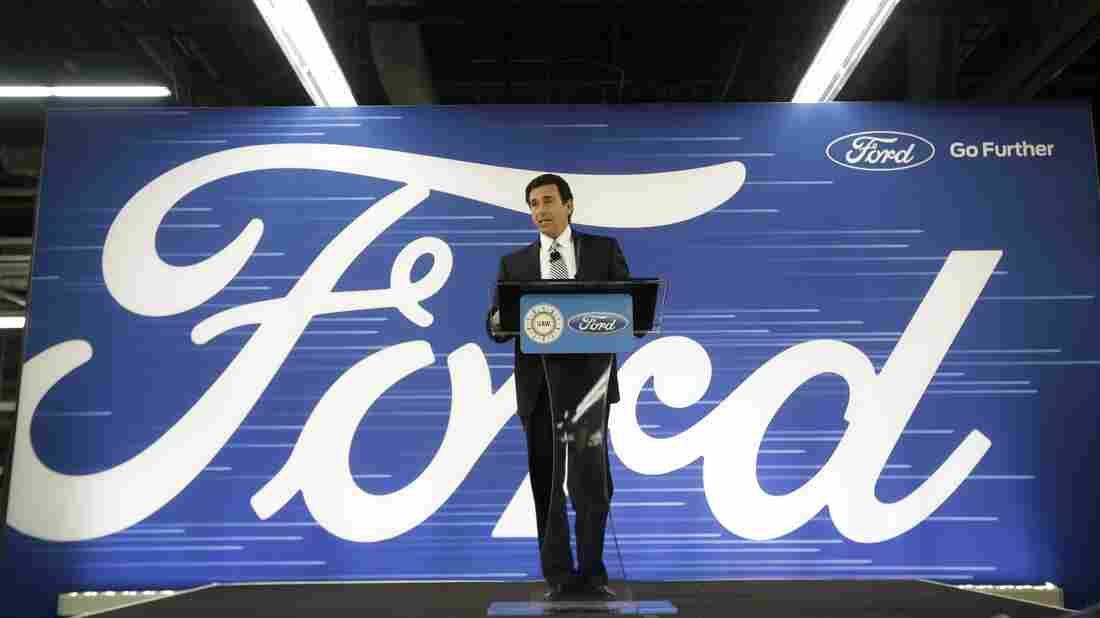 Ford details EV plans, cancels Mexico plant project