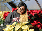 "Erika Jerez, a senior Aggie at John Bowne, hopes to study food processing at Rutgers University next fall. ""There's so much more to ag than farming,"" she says."