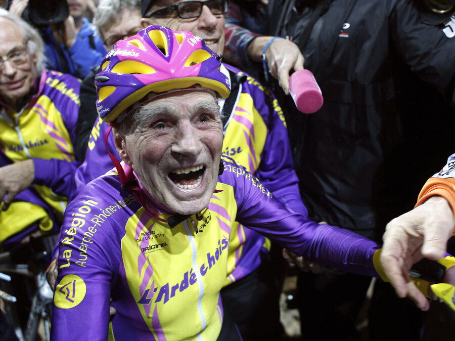 105-Year-Old Cyclist Rides 14 Miles In An Hour En Route To A World ...