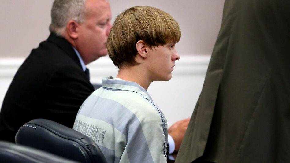 Dylann Roof appears at a court hearing in Charleston, S.C., in July 2015. Now found guilty of 33 federal hate crimes charges, Roof is defending himself during the sentencing phase of the trial. (AP)