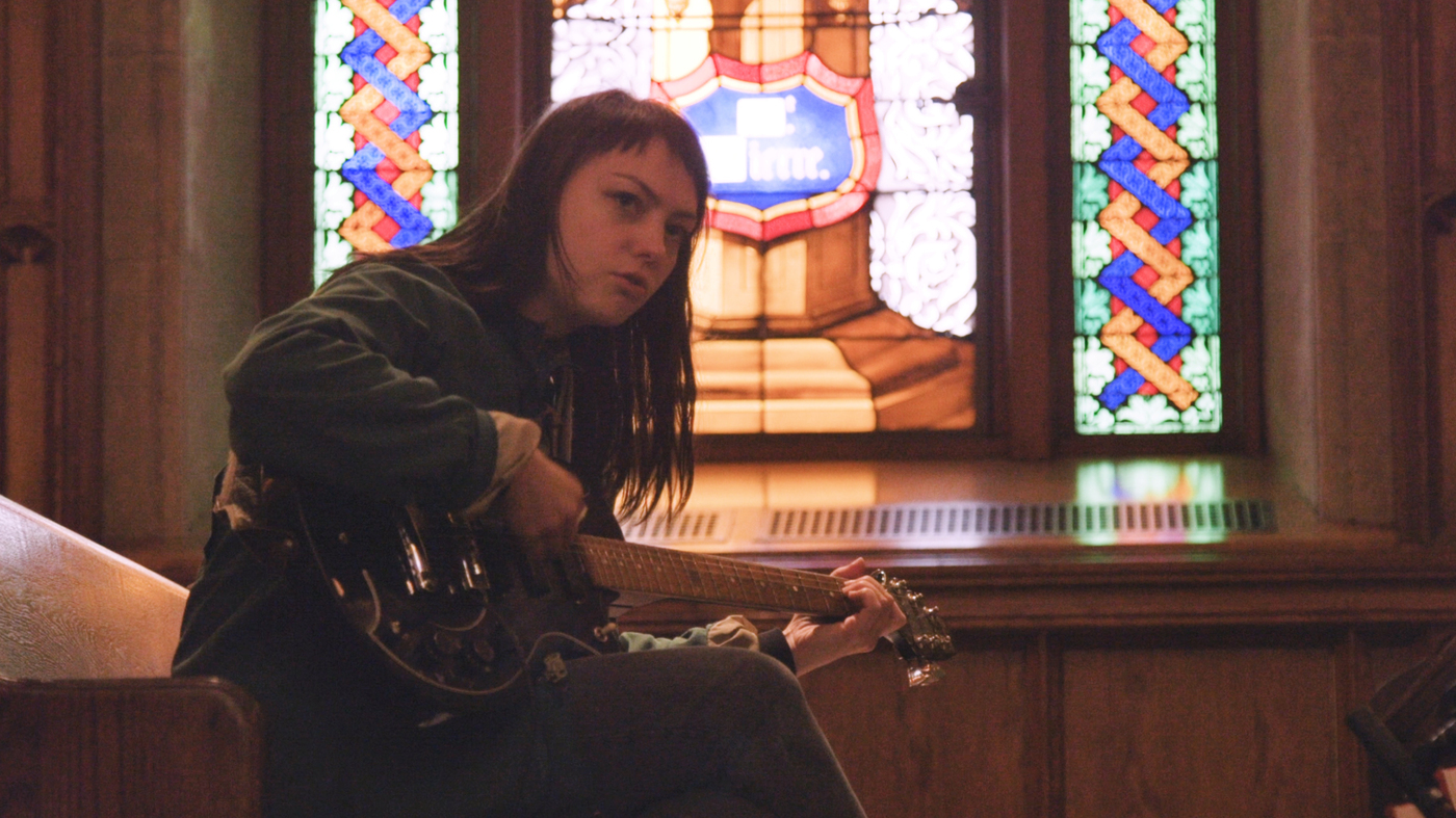 Watch Angel Olsen Perform 'Give It Up' In A Bronx Church : NPR