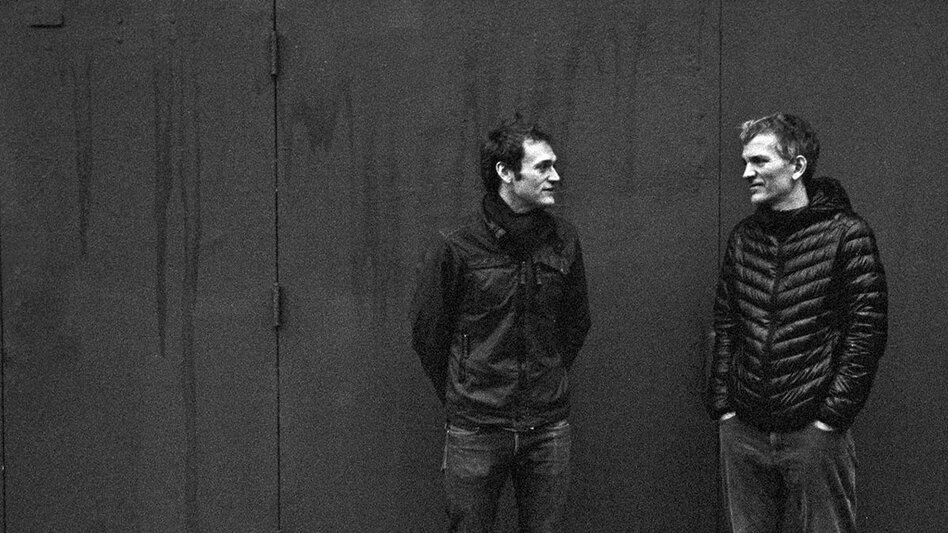 Chris Thile & Brad Mehldau's forthcoming, self-titled album is on World Cafe's radar for 2017. (Courtesy of the artist)