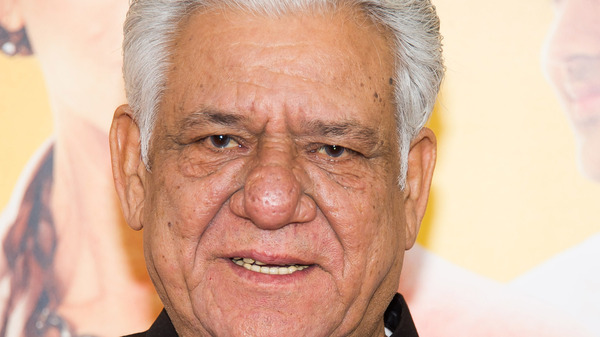 Om Puri at the New York premiere of The Hundred-Foot Journey on Aug. 4, 2014.