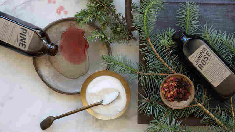 Pining For A Cozy Winter Drink? Try An Evergreen Liqueur