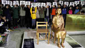 'Comfort Woman' Statue Sparks Diplomatic Row Between Japan And South Korea